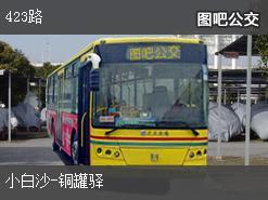 重庆423路上行公交线路
