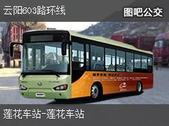 重庆云阳603路环线公交线路