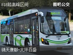 重庆818路高峰区间公交线路