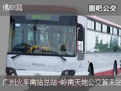 广州佛K6路上行公交线路