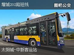 广州增城202路短线上行公交线路