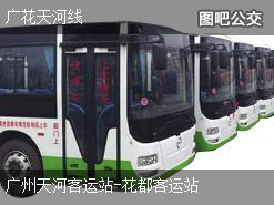 广州广花天河线上行公交线路