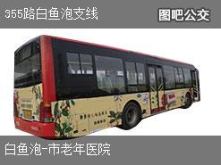 哈尔滨355路白鱼泡支线上行公交线路