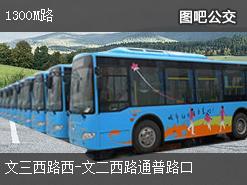 杭州1300M路下行公交线路