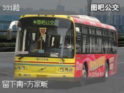 杭州331路上行公交线路