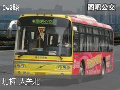 杭州342路上行公交线路
