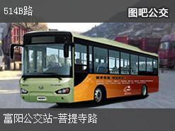 杭州514B路上行公交线路