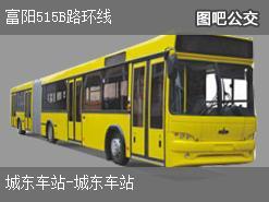 杭州富阳515B路环线公交线路