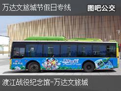 合肥万达文旅城节假日专线上行公交线路