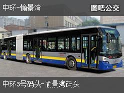 香港中环-愉景湾上行公交线路
