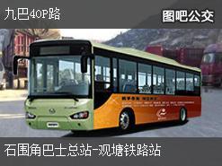 香港九巴40P路上行公交线路
