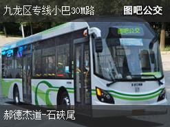 香港九龙区专线小巴30M路公交线路