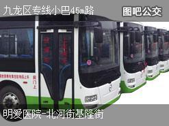 香港九龙区专线小巴45m路上行公交线路