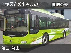 香港九龙区专线小巴63M路公交线路