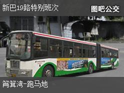香港新巴19路特别班次公交线路