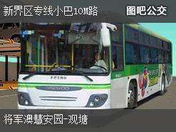 香港新界区专线小巴10M路上行公交线路