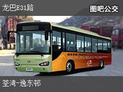 香港龙巴E31路上行公交线路