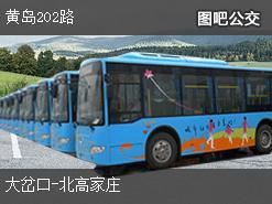 青岛黄岛202路上行公交线路