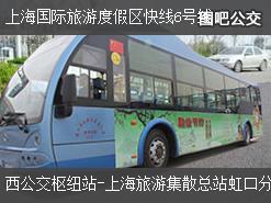 上海上海国际旅游度假区快线6号线上行公交线路