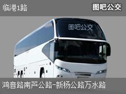 上海临港1路上行公交线路
