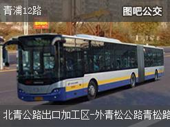上海青浦12路上行公交线路