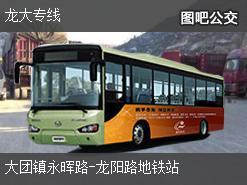 上海龙大专线上行公交线路