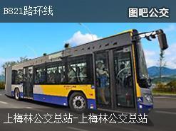 深圳B821路环线公交线路