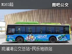 深圳M263路上行公交线路