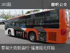 武汉262路上行公交线路