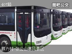 武汉407路上行公交线路