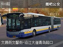 武汉503路上行公交线路