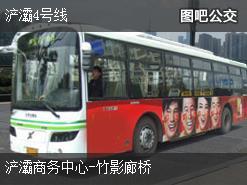西安浐灞4号线上行公交线路