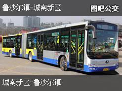 西宁鲁沙尔镇-城南新区上行公交线路