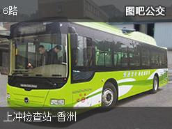 珠海6路上行公交线路